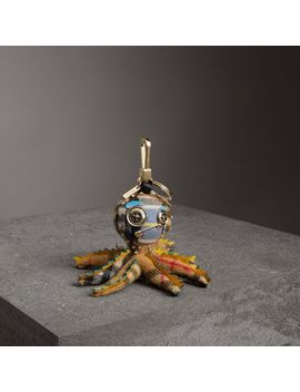 Sally The Octopus Cashmere Charm by Burberry