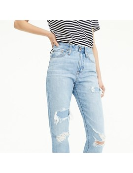 point-sur-high-rise-retro-straight-jean-in-light-wash by jcrew