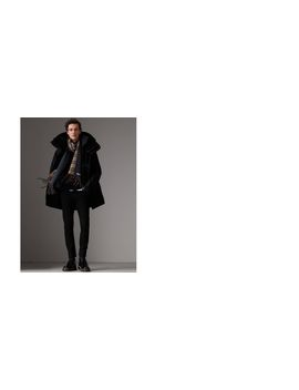 Detachable Shearling Collar Modular Jacket With Warmer by Burberry