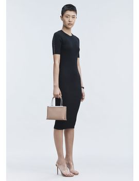 Pierced Tee Dress by Alexander Wang