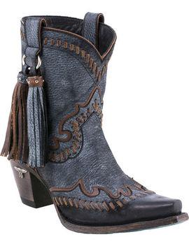 Lane Women's Hoedown Short Boots   Snip Toe by Lane