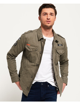 Rookie Deck Patched Jacket by Superdry