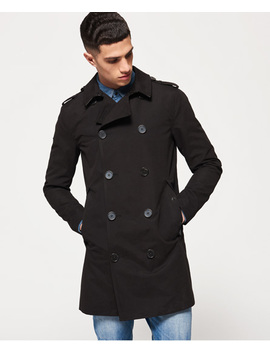 Premium Rogue Trench Coat by Superdry