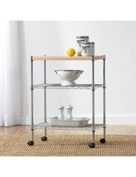 wayfair-basics-adjustable-kitchen-cart by wayfair-basics