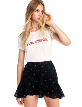 Evil Eyeroll Seer Tee by Wilfdox