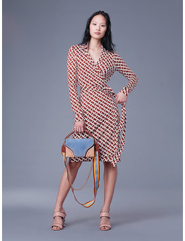 The Dvf New Jeanne Two Silk Jersey Wrap Dress&Nbsp; by Dvf