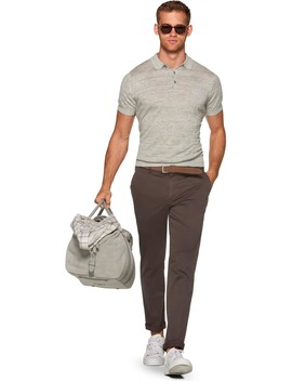 Light Grey Polo by Suitsupply