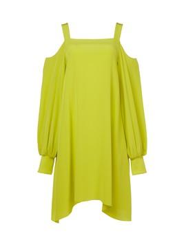 Silk Strappy Dress by Tibi