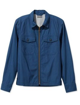 Signature Full Zip Shirt Jacket by L.L.Bean