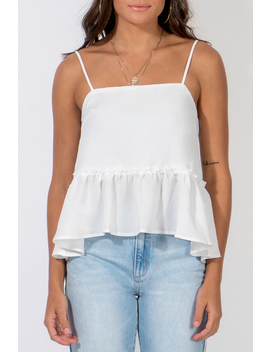 Feeling For You Babydoll Top by Dissh Boutiques