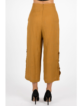 Only A Feeling Button Pants by Dissh Boutiques