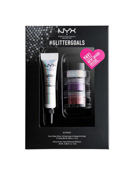 "#Glitter Goals   Kit 3              <Span Class=""Product.Sample.Minicart.Class.Variationdetails""></Span> by Nyx Cosmetics"