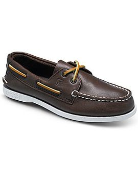 Big Kid's Authentic Original Boat Shoe by Sperry