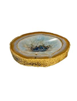 Mapleton Drive Agate Catchall Decorative Bowl by Mapleton Drive