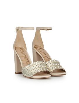 Yaria Embellished Ankle Strap Sandal by Sam Edelman
