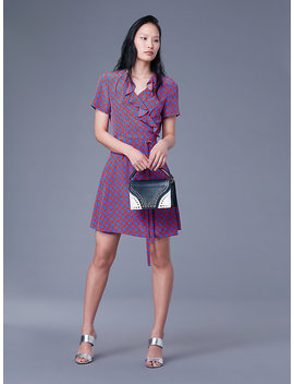 The Dvf Savilla Wrap Dress by Dvf