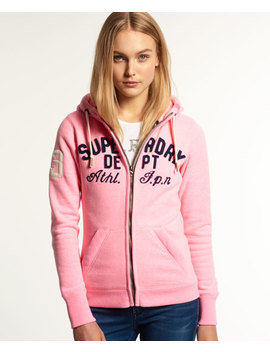 Applique Sd Dept Zip Hoodie by Superdry