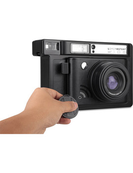 Lomo'instant Wide Black Camera And Lenses by Lomography