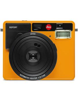 Sofort Instant Film Camera (Orange) by Leica