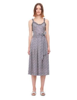 Lauren Floral Silk Jacquard Skirt by Rebecca Taylor