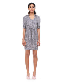 Lauren Floral Silk Jacquard Dress by Rebecca Taylor