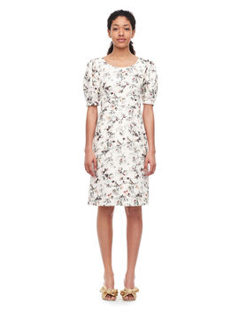Sofia Fleur Linen Dress by Rebecca Taylor