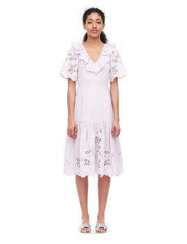 La Vie Eyelet Poplin Dress by Rebecca Taylor