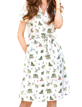 Newport Topiary Gardens Shirtdress by Kiel James Patrick