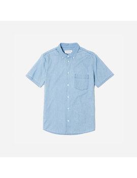 The Denim Short Sleeve Shirt by Everlane