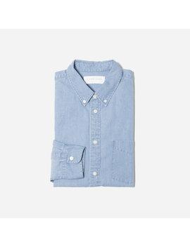 The Denim Long Sleeve Shirt by Everlane