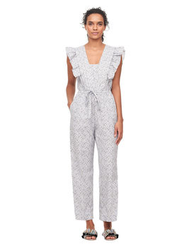 La Vie Meadow Floral Jumpsuit by Rebecca Taylor