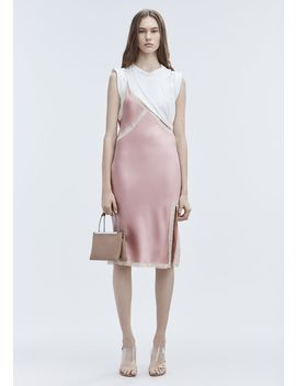 Hybrid Slip Dress by Alexander Wang