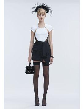 Tuxedo Skirt by Alexander Wang