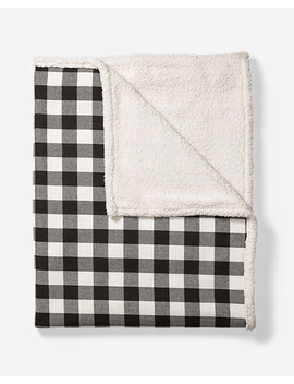 Cabin Flannel Throw by Eddie Bauer