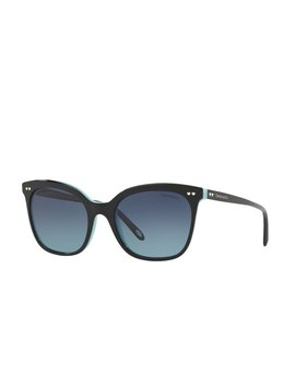 Tf4140 Square Sunglasses   Black / Blue by Tiffany &Amp; Co.