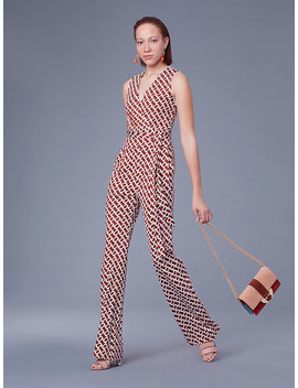 The Dvf Terria Silk Jersey Jumpsuit&Nbsp; by Dvf