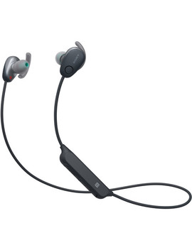 Wi Sp600 N Wireless Noise Canceling In Ear Sports Headphones (Black) by Sony