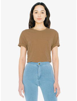 Unisex 50/1 Short Sleeve T Shirt by American Apparel