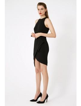 Alexia Asymmetric Mini Dress by Aq/Aq