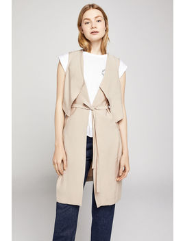 Layered Long Vest by Bcbgeneration
