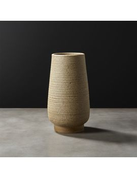 Sabi Vase by Crate&Barrel