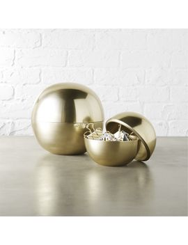 Dome Gold Storage by Crate&Barrel