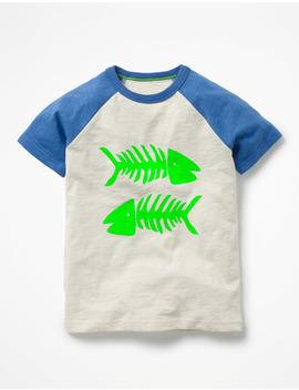 Summer Raglan T Shirt by Boden