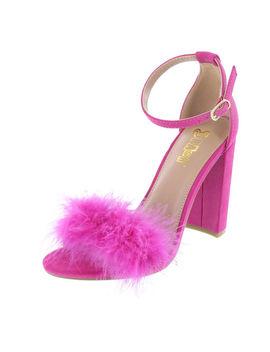 Women's Faux Fur Houston Sandal by Learn About The Brand Brash