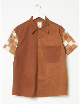 Story Mfg Patchwork Shore Shirt by Other