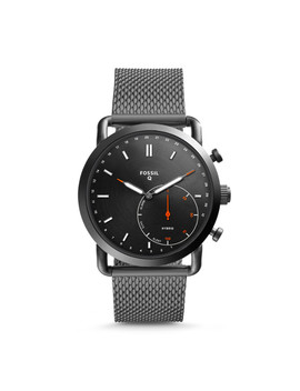 Herren Hybrid Smartwatch Q Commuter   Edelstahl   Grau by Fossil
