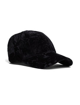 Crushed Velvet Baseball Cap by Bcbgeneration