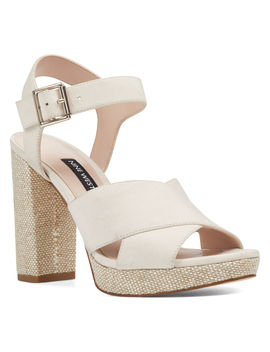 Jimar Platform Sandals by Nine West