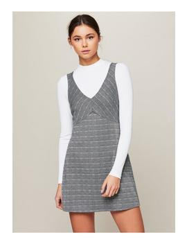 Check Pinny Dress by Miss Selfridge