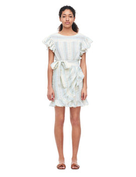 La Vie Double Gauze Stripe Dress by Rebecca Taylor